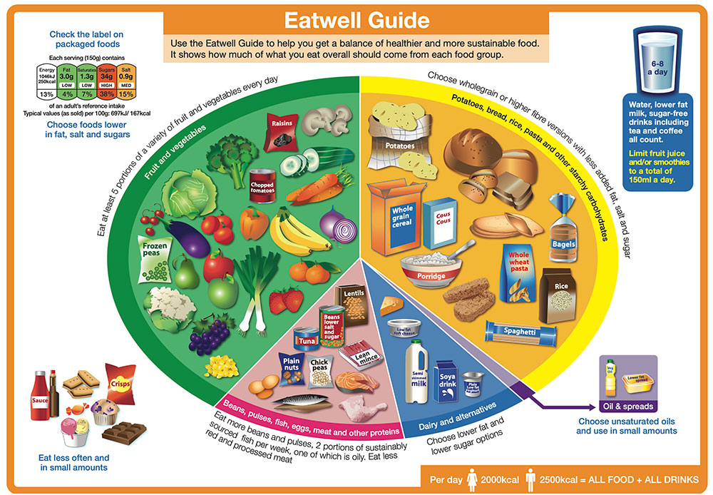 Eat Well Plate